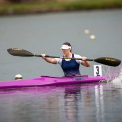 state champs paracanoe purple boat