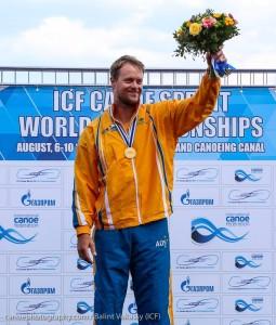 Curtis McGrath canoe sprints worlds
