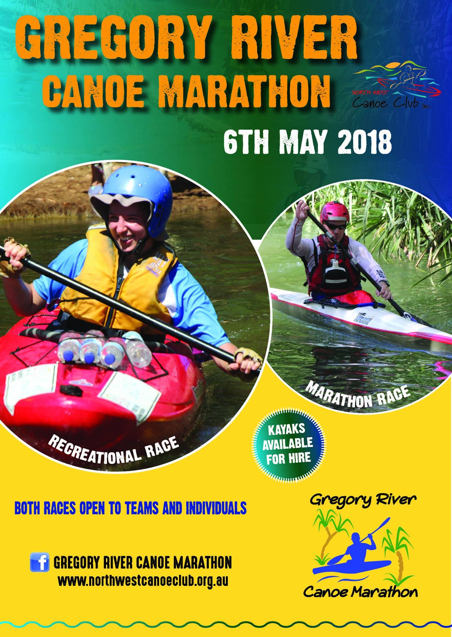 Gregory River Canoe Marathon   PaddleQLD